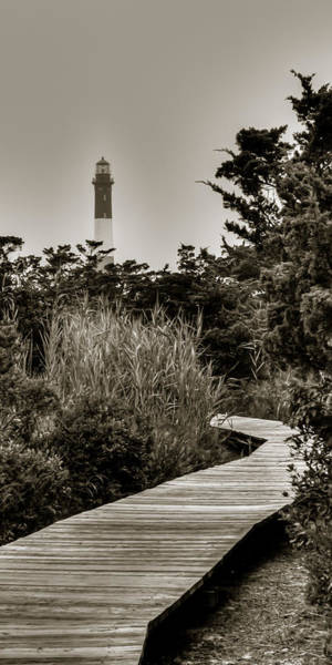 Photograph - The Light At Fire Island by Dave Hahn