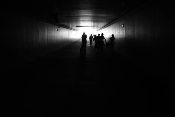 Photograph - The Light At The End Of The Tunnel by Nathan Rupert