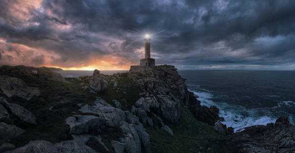 Galicia Photograph - The Light At The End Of The World by Carlos F. Turienzo