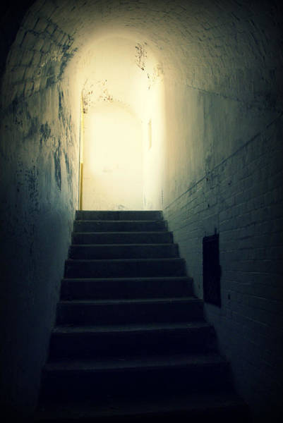 Photograph - The Light At The Top Of The Stairs by Marilyn Wilson
