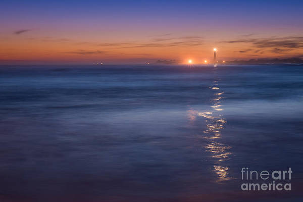 Cape May Lighthouse Photograph - The Light Will Guide You by Michael Ver Sprill