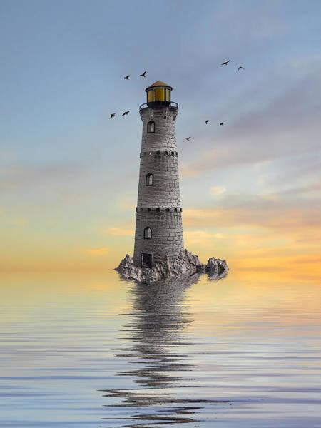 Wall Art - Photograph - The Lighthouse 2 by Sharon Lisa Clarke