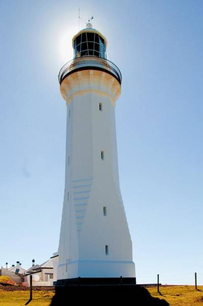 Photograph - The Lighthouse At Green Cape  by David Rich