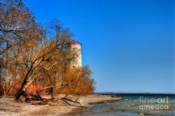 Photograph - The Lighthouse At Presquile by Lois Bryan