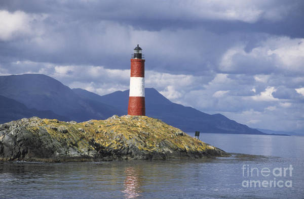 Photograph - The Lighthouse At The End Of The World by James Brunker