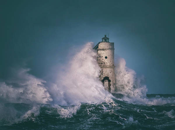 Wall Art - Photograph - The Lighthouse Mangiabarche by Daniele Atzori