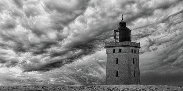 The Lighthouse Mood. Art Print by Leif L?ndal
