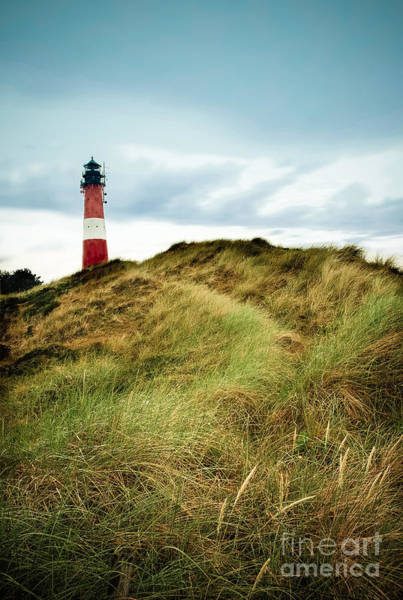 Photograph - the lighthouse of Hoernum by Hannes Cmarits