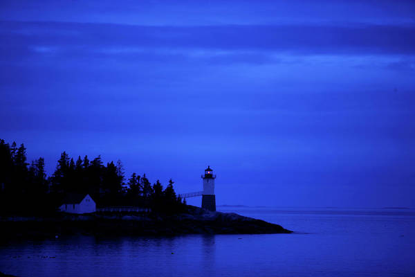 Wall Art - Photograph - The Lighthouse On Robinsoon Point, Isle by Jim Lo Scalzo