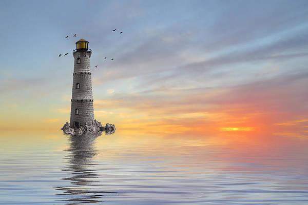 Wall Art - Photograph - The Lighthouse by Sharon Lisa Clarke