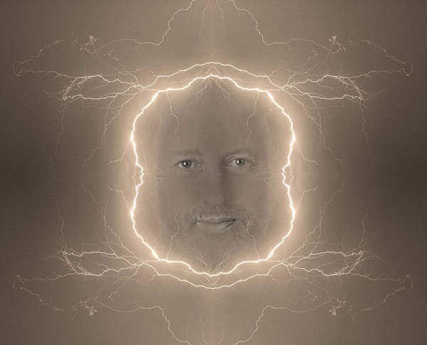 Photograph - The Lightning Man Sepia by James BO Insogna