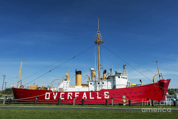 Lewes Photograph - The Lightship Overfalls by John Greim