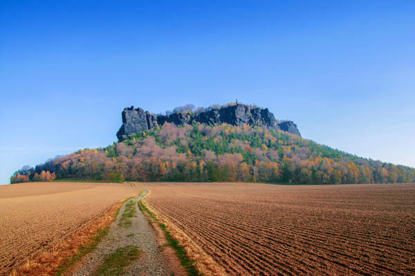 Photograph - The Lilienstein On An Autumn Morning by Sun Travels