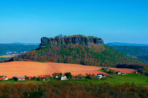 Photograph - The Lilienstein by Sun Travels