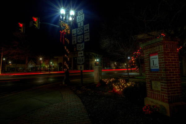 Photograph - The Lincoln Highway by David Dufresne