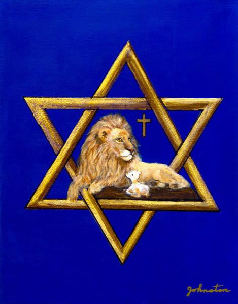 Nadine Painting - The Lion Of Judah #7 by Bob and Nadine Johnston