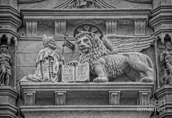 Wall Art - Photograph - The Lion Of Saint Mark by Lee Dos Santos