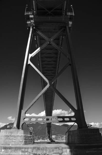 Photograph - The Lions' Gate by Ross G Strachan
