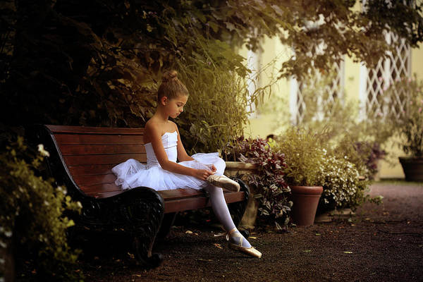 Wall Art - Photograph - The Little Dancer by Victoria Ivanova