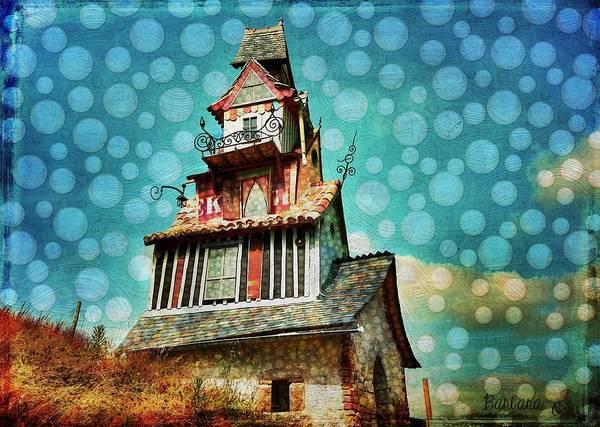 Respect Digital Art - The Little Mansion On The Prairie by Barbara Orenya