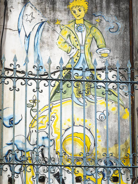 Photograph - Cuba Street Art - The Little Prince  by Jo Ann Tomaselli