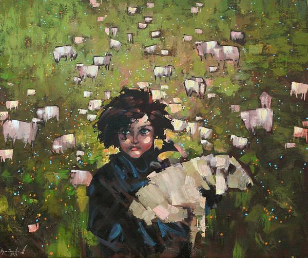 Wall Art - Painting - The Little Prince by Anastasija Kraineva
