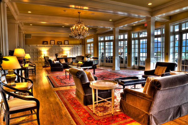 Wall Art - Photograph - The Lobby At The Sagamore Resort by David Patterson