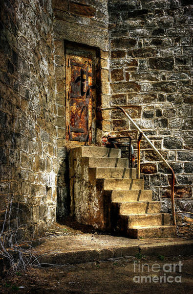 Wall Art - Photograph - The Locked Door by Lois Bryan
