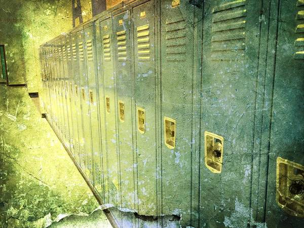 Photograph - The Locker Room by Richard Reeve
