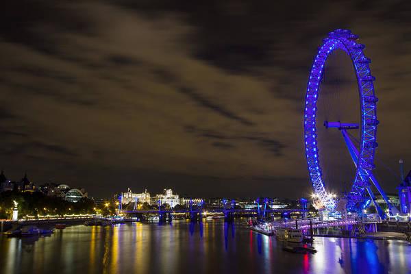 Fair Ground Photograph - The London Eye by Wayne Molyneux