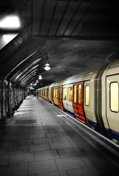 Wall Art - Photograph - The London Tube by Mark Rogan