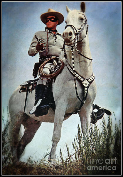Cowboy Horse Photograph - The Lone Ranger by Bob Hislop