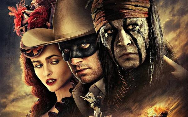 Digital Art - The Lone Ranger by Movie Poster Prints