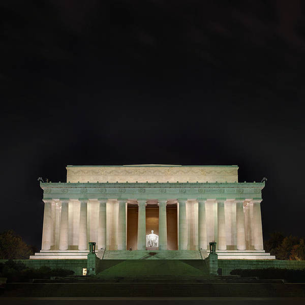 Photograph - The Lonely Tourist At Lincoln Memorial by Metro DC Photography