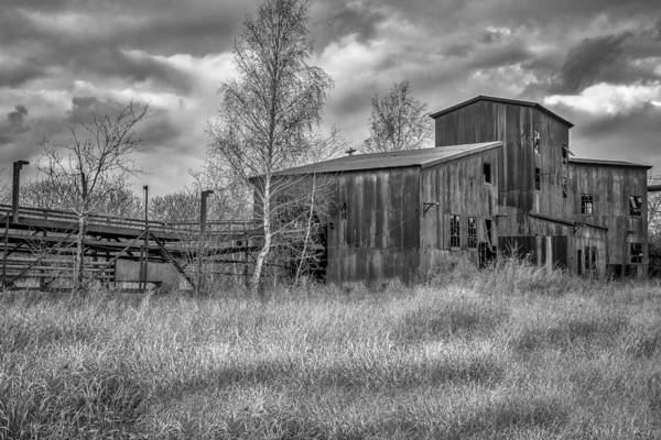 Photograph - The Lonesome Place - Bw by Chris Bordeleau