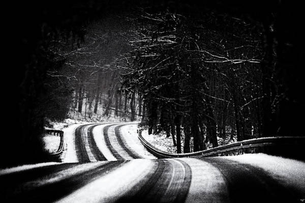 Photograph - The Long And Winding Road by Chris Lord