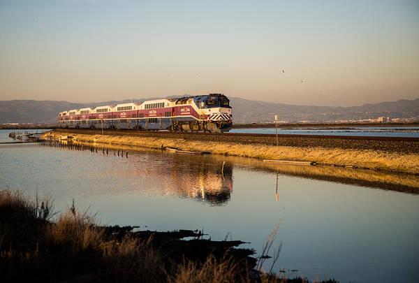 Alviso Photograph - The Long Commute by Alex Lapidus