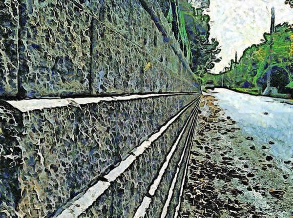 Painting - The Long Road by Derek Gedney