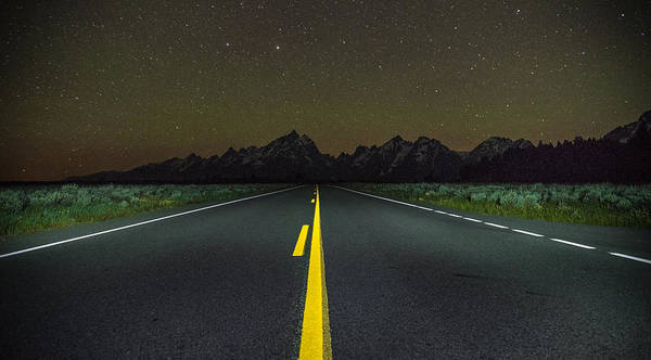 Photograph - The Long Road by Kristopher Schoenleber
