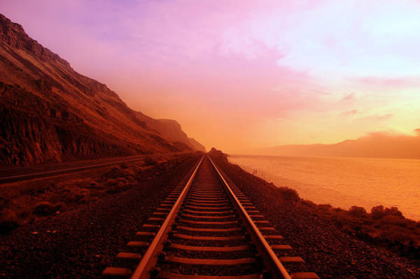 Railroads Photograph - The Long Walk To No Where  by Jeff Swan