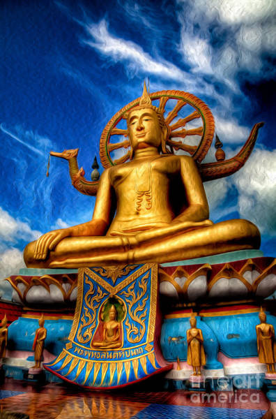 Buddha Statue Photograph - The Lord Buddha by Adrian Evans