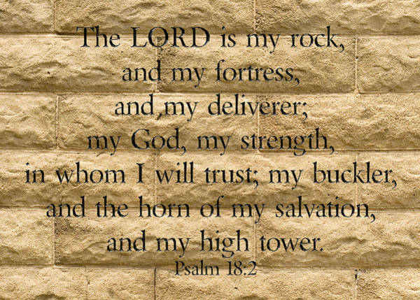 Photograph - The Lord Is My Rock by Denise Beverly