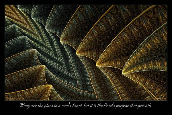 Digital Art - The Lord's Purpose by Missy Gainer
