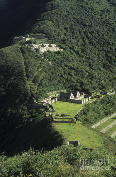 Photograph - The Lost City Of Choquequirao by James Brunker