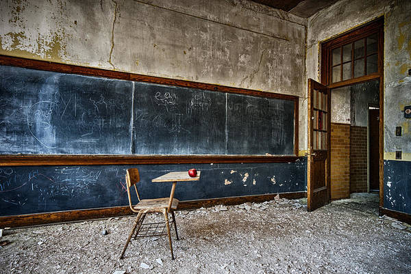 Photograph - The Lost Teacher by Ghostwinds Photography