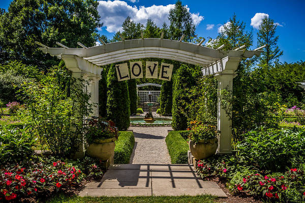 Photograph - The Love Arch by Ron Pate