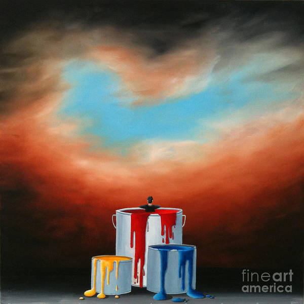 Painting - The Love Of Painting by Ric Nagualero