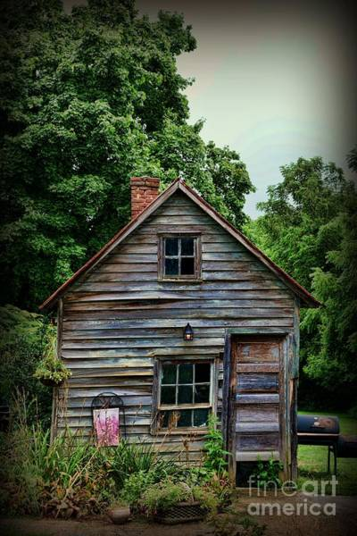 Rustic Photograph - The Love Shack by Paul Ward