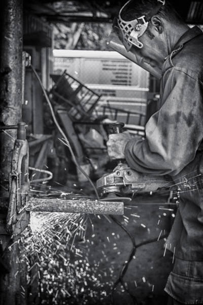 Photograph - The Machinist by Gigi Ebert