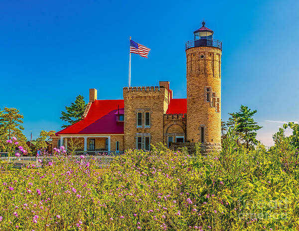 Wall Art - Photograph - The Mackinac Lighthouse by Nick Zelinsky